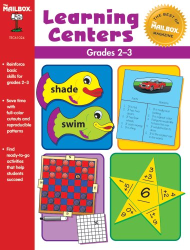 9781562347222: The Best of THE MAILBOX Centers (Grs. 2-3)