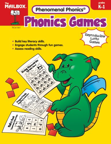 9781562347475: Phonics Games (Grs. K-1) by The Mailbox Books Staff (2007-01-01)