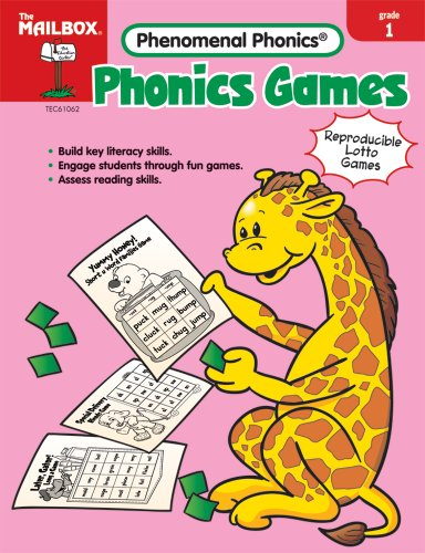 9781562347482: THE EDUCATION CENTER TEC61062 PHONICS GAMES GD 1