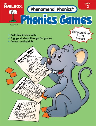 9781562347499: THE EDUCATION CENTER TEC61063 PHONICS GAMES GD 2