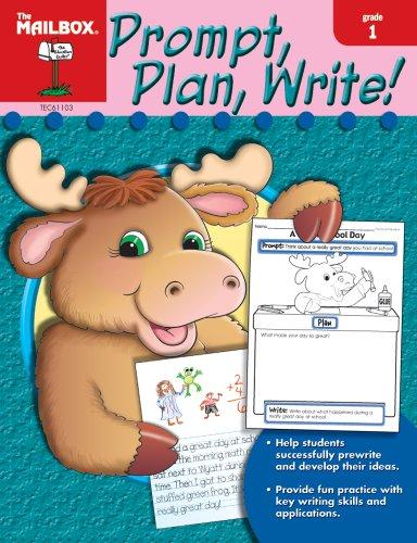 9781562347666: Prompt, Plan, Write! (Gr. 1)