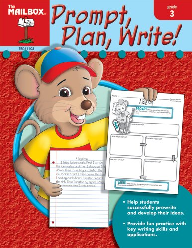 9781562347680: Prompt, Plan, Write! (Gr. 3)