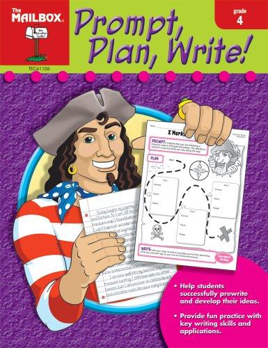 9781562347697: Prompt, Plan, Write! (Gr. 4)