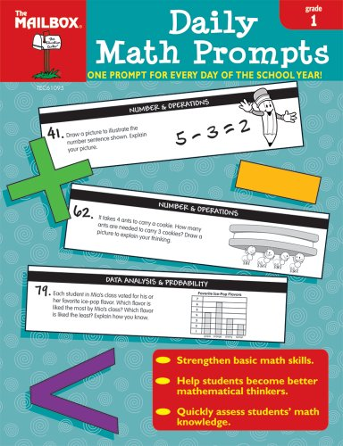 9781562347710: Daily Math Prompts (Gr. 1)