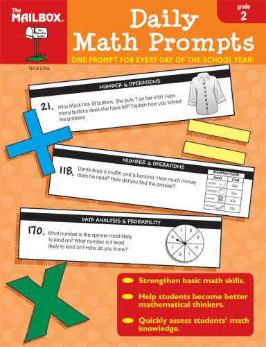 9781562347727: Daily Math Prompts (Gr. 2)