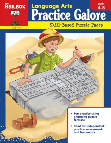 9781562347772: Language Arts Practice (Grs. 4-5)