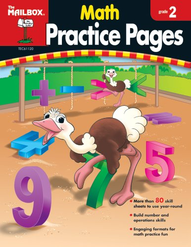 9781562347949: Math Practice Pages (Gr. 2)