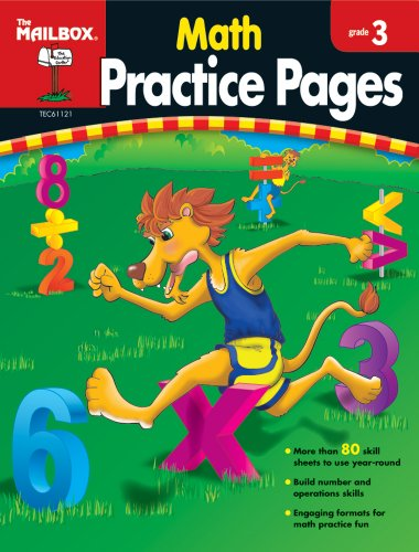 9781562347956: Math Practice Pages (Gr. 3)