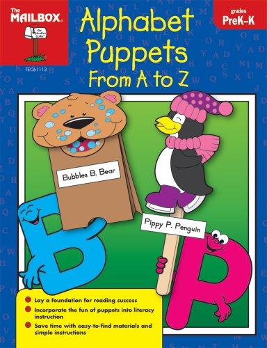 9781562347994: Alphabet Puppets A to Z (PreK-K)
