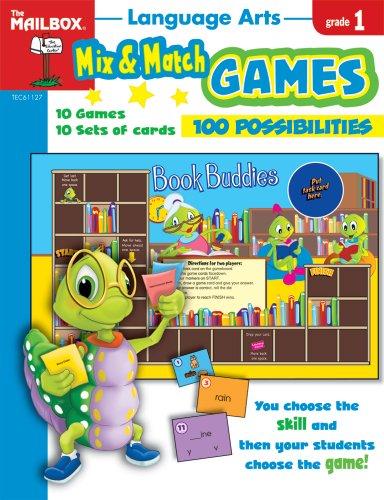 9781562348045: Mix & Match Games: Language Arts (Gr. 1)