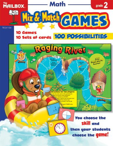 9781562348052: Mix & Match Games: Math (Gr. 2)