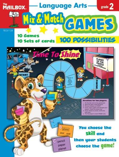 9781562348069: Mix & Match Games: Language Arts (Gr. 2)