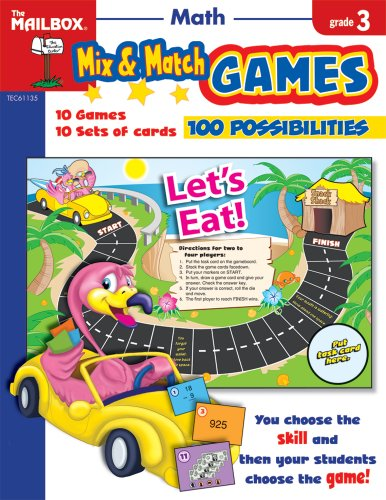 9781562348076: Mix & Match Games: Math (Gr. 3)