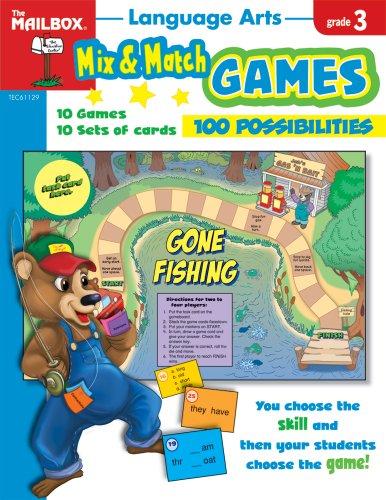 9781562348083: Mix & Match Games: Language Arts (Gr. 3)