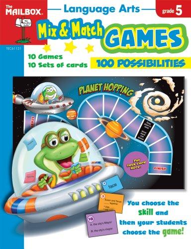 9781562348120: Mix & Match Games: Language Arts (Gr. 5)