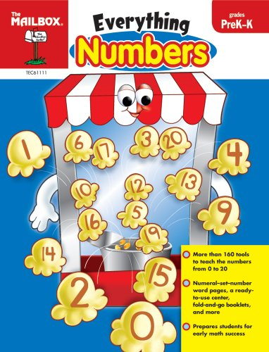 Everything Numbers (PreK-K): The Mailbox Books