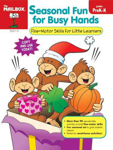 9781562348328: Seasonal Fun for Busy Hands (PreK-K)