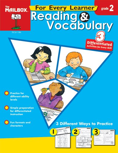 9781562348649: For Every Learner: Reading & Vocabulary (Gr. 2)