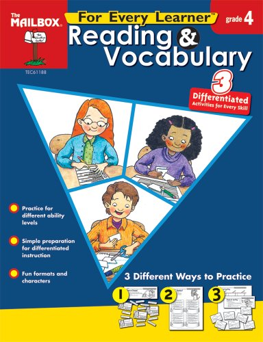 9781562348663: For Every Learner: Reading & Vocabulary (Gr. 4)