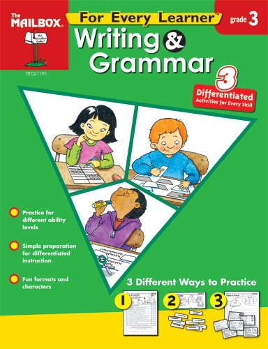 9781562348694: For Every Learner: Writing & Grammar (Gr. 3)