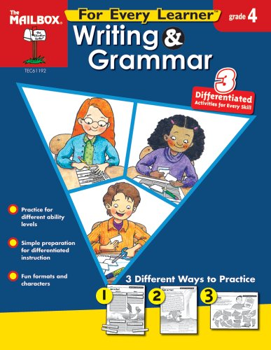 9781562348700: For Every Learner: Writing & Grammar (Gr. 4)