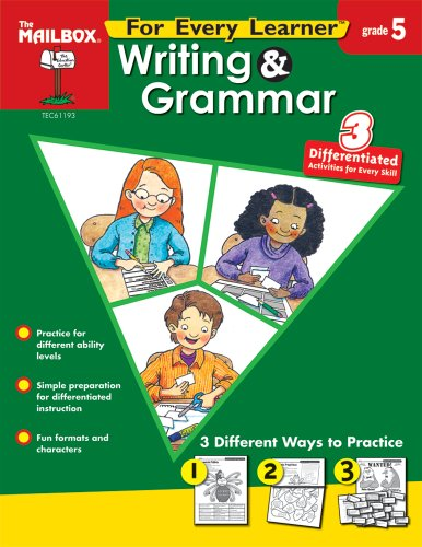 9781562348717: For Every Learner: Writing & Grammar (Gr. 5)
