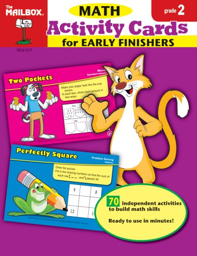 9781562348922: Activity Cards for Early Finishers: Math (Gr.2)