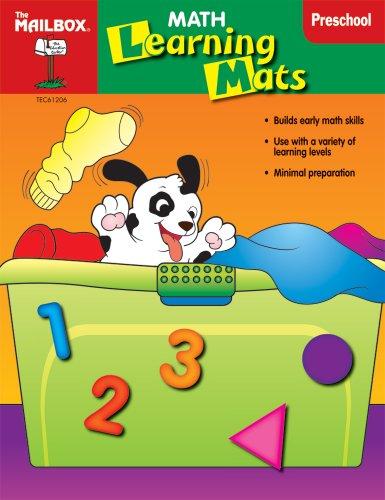 9781562349028: Math Learning Mats (PreK)