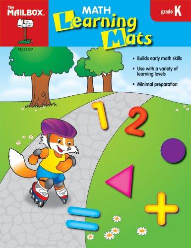 9781562349035: Math Learning Mats (Gr. K)