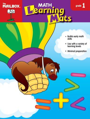 9781562349042: Math Learning Mats (Gr. 1)
