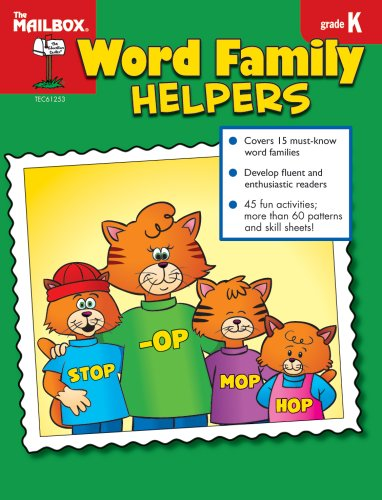 Word Family Helpers (Gr. K) (1562349295) by The Mailbox Books Staff