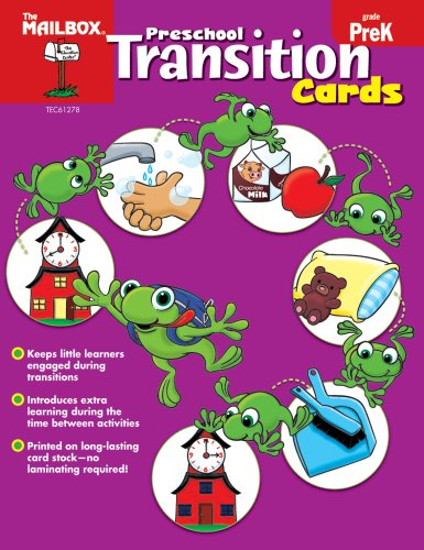 Preschool Transition Cards: The Mailbox Books Staff