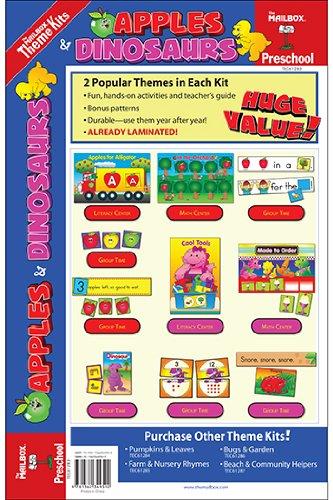 9781562349592: The Mailbox Books TEC61283 Apples & Dinosaurs Theme Kit Gr Pk