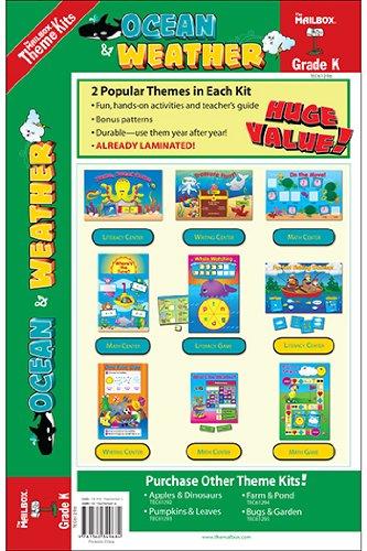 9781562349684: Theme Kit: Ocean & Weather (Kindergarten)