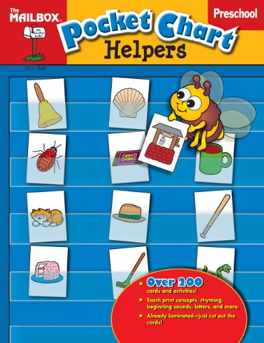 Pocket Chart Helpers (PreK): The Mailbox Books Staff