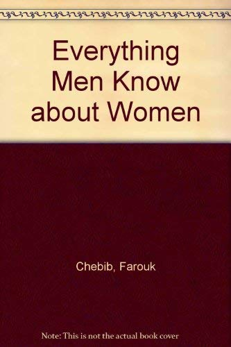 9781562369804: Everything Men Know About Women