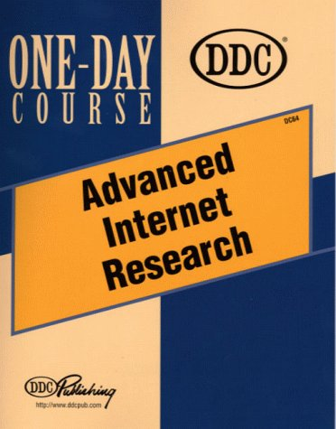 9781562438319: Advanced Internet Research One-Day Course