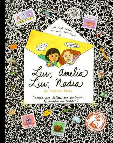 9781562478391: Luv, Amelia Luv Nadia: By Marissa Moss (Amelia (American Girl Hardcover))