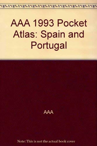 AAA Pocket Atlas : Spain and Portugal: American Automobile Association