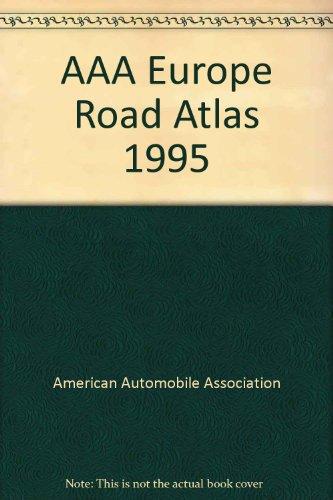 AAA Europe Road Atlas 1993