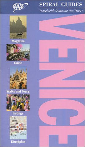 9781562515034: AAA Spiral Guide to Venice: 2002 Edition (AAA Spiral Guides)