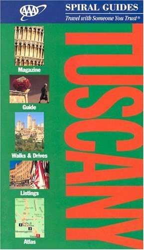 9781562516789: AAA Spiral Guides Tuscany