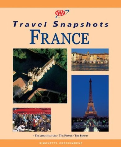 9781562518066: AAA Travel Snapshots France