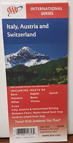 9781562518530: AAA Italy, Austria & Switzerland: Including Bern, Florence, Milan, Naples, Rome, Vienna, Zurich: Plu