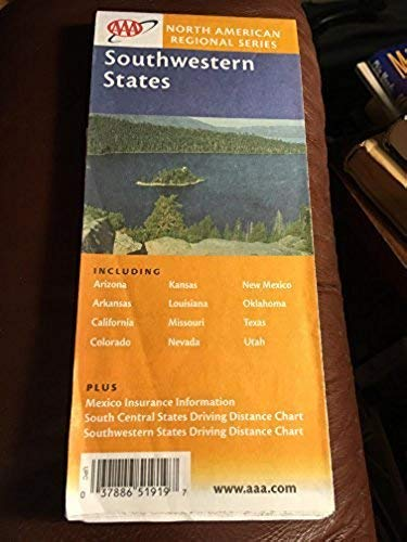9781562519193: AAA Southwestern States