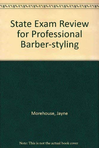 9781562531447: State Exam Review for Professional Barber-Styling: State Exam Review