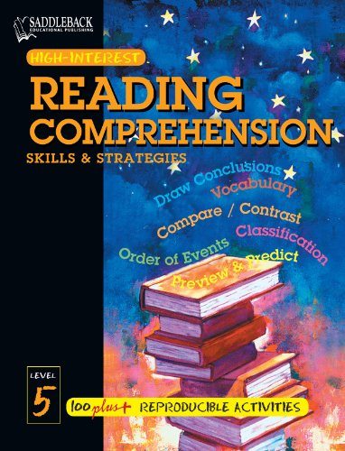 Reading Comprehension Skills and Strategies Level 5 (High-Interest ...