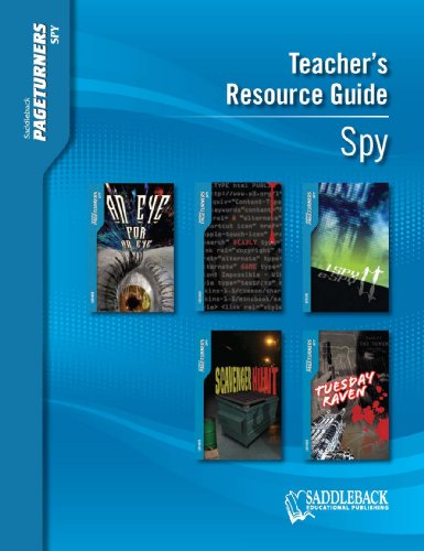 9781562541415: Spy Teacher's Guide (Pageturners)