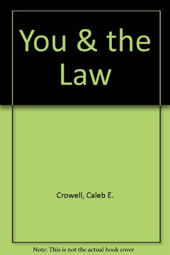 9781562542139: You & the Law