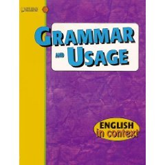 9781562543525: Grammar and Usage: Level 4 (English in Context)